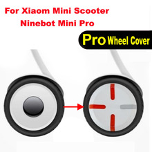 2PCS ABS Fashion Wear Resistant Easy Install Electric Scooter Part Decorative Replacement Wheel Hub Cover Cap For Xiaomi Ninebot цена