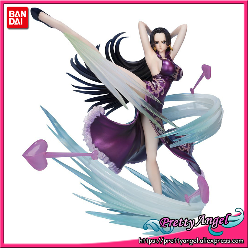 PrettyAngel - Genuine Bandai Tamashii Nations Figuarts ZERO ONE PIECE Boa Hancock -Love Hurricane ver.- Collection Figure