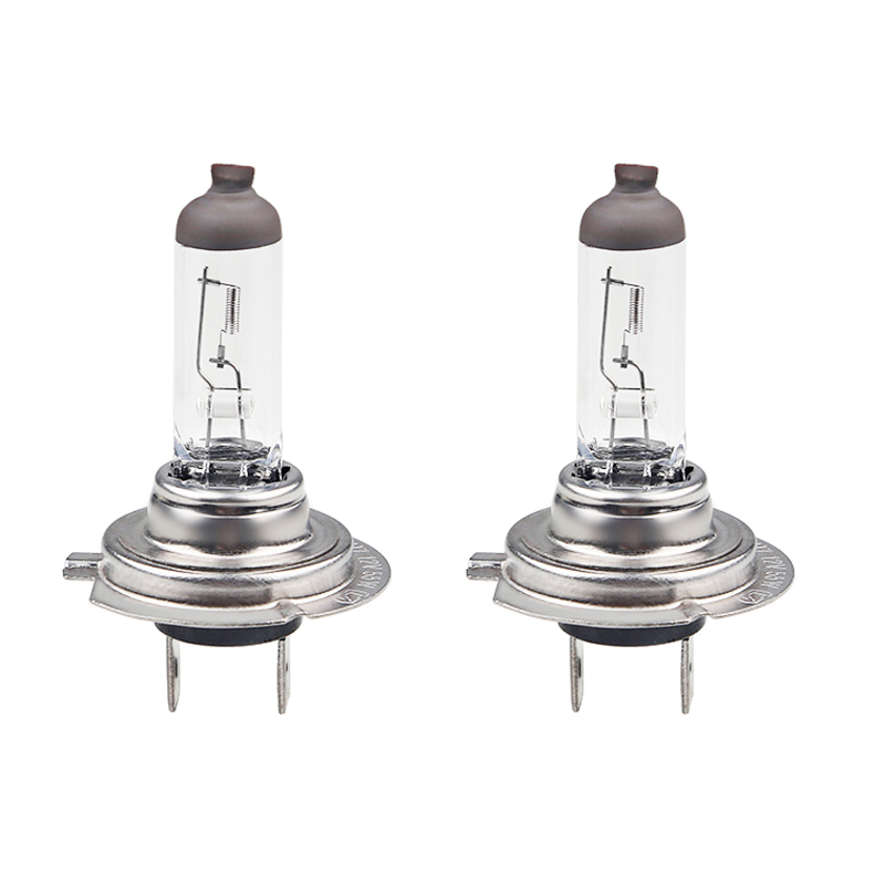 2pcs H7 Halogen 12V 55W Car Bulb Halogen 4300K White Fog Halogen Bulb Car Head Lamp Light 12V Car Light Lamp 2pcs h7 5000k halogen bulb super xenon white 55w fog lights headlight lamp car light source parking 12v car styling