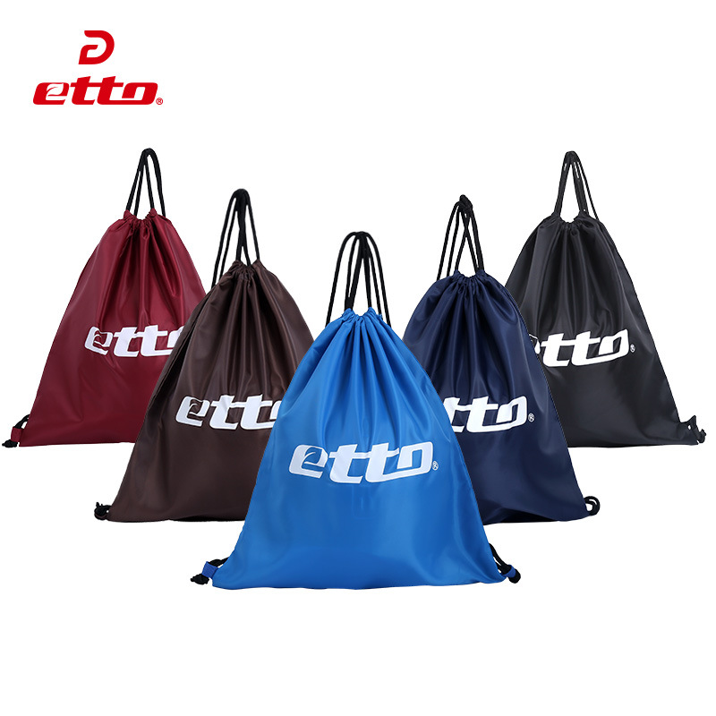 Etto Quality Nylon Basketball Volleyball Football Storage Pouch Portable  Gym Fitness Bag Sports Accessories Package HAB007