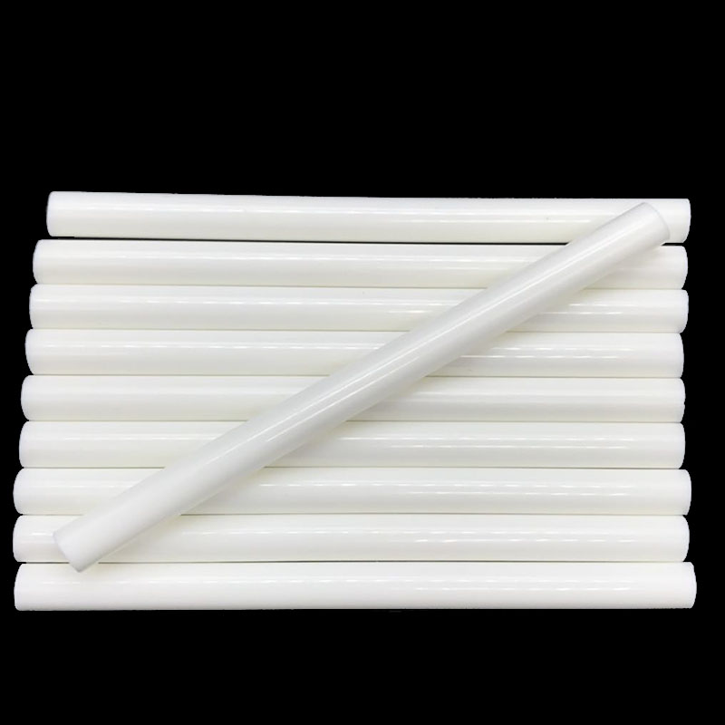 White Color 7MM Hot Melt Glue Sticks  For  Electric Glue Gun Car Audio Craft Repair Sticks Adhesive Sealing Wax Stick 10 Pcs