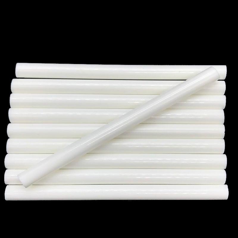 White Color 7MM Hot Melt Glue Sticks  For  Electric Glue Gun Car Audio Craft Repair Sticks Adhesive Sealing Wax Stick 10 Pcs