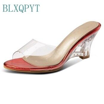 Blxqpyt Playa Flop Cm Hq2 Zapatos Verano Zapatillas 7 Mujeres Flip Sandalias Tacón Las 50 Casa Moda Femeninos 30 Mujer 29YEHeWID