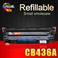 CB436A 36а 436A 436 совместимый картридж для HP laserjet P1505 P1505N M1120 M1120N M1522NF M1522N LBP3250 принтеры