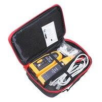 Gói bán lẻ WH806B Dây Điện Thoại Mạng Tracker Cable Tester Cho Cat5 Cat5E Cat6 RJ45 RJ11 Dòng Điện Finding Thử Nghiệm