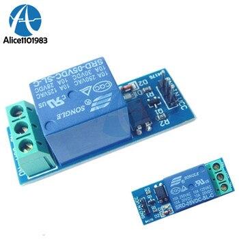 Módulo de relé 5V 1 canal 10A con optoacoplador para PIC AVR DSP ARM para Arduino 5V 1 Módulo de canal de relé