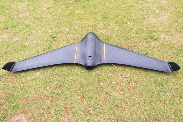 Fresco Llegada 2122mm Skywalker Negro x-8 FPV EPO Gran Vuelo Avión de ala Última Versión X8 Drones RC Avión de Control Remoto juguete