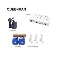 Идентификатор утечки воды WLD 806 Hidaka система сигнализации для домашней безопасности с 2 шт. DN15 детектор утечки воды