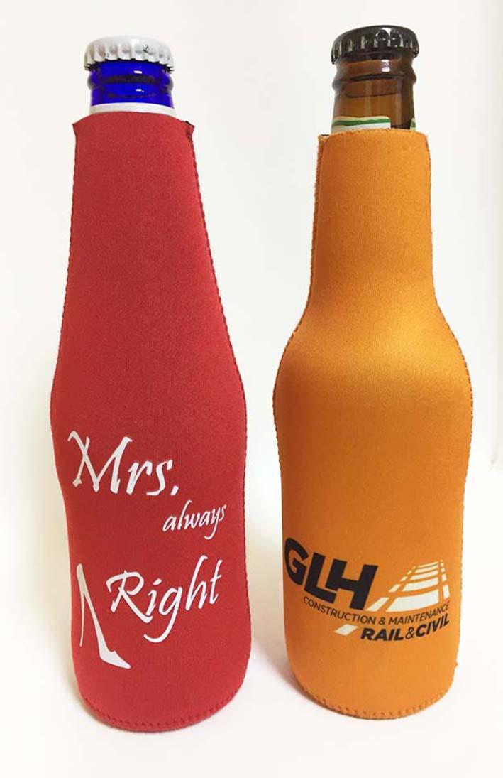 Design Personalizado Stubby Coolers De Cerveja De Gelo Para O Vinho Cerveja