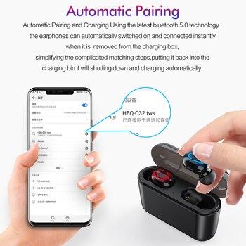 Rock It Hifi Wireless Bluetooth 5.0 Earphone with Portable 1500mAh Charging Case 3
