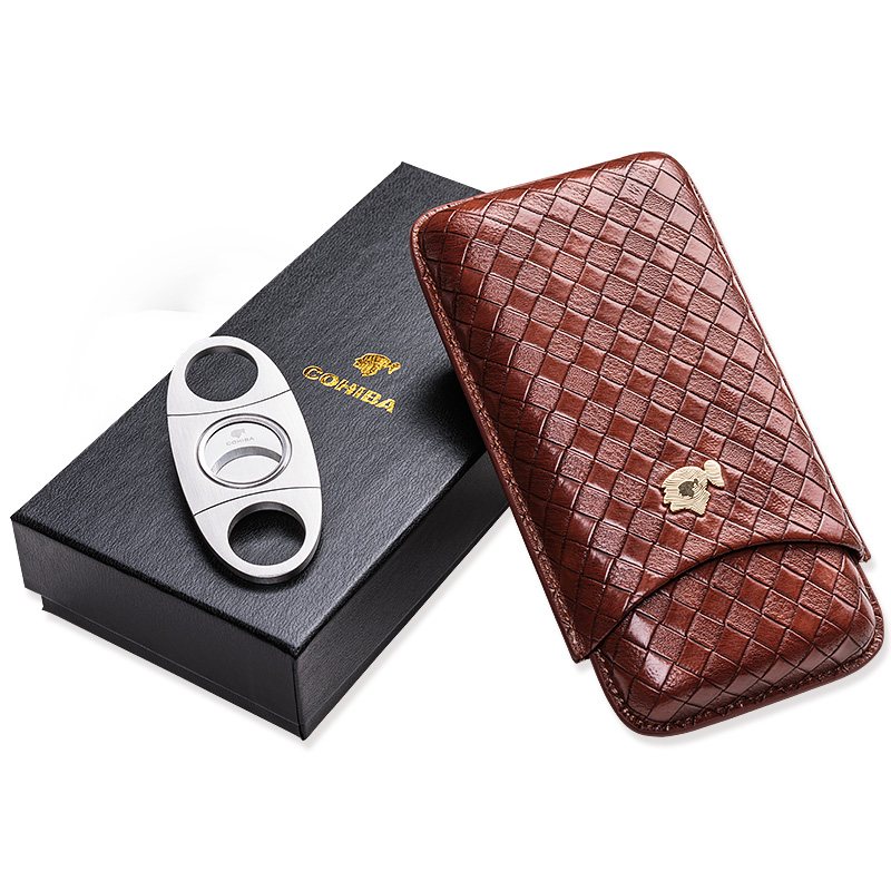 CIGARLOONG Cigar Tube Cigar moisturizing holsteins travel portable cigar knife gift box packaging CP 1018 in Cigar Accessories from Home Garden