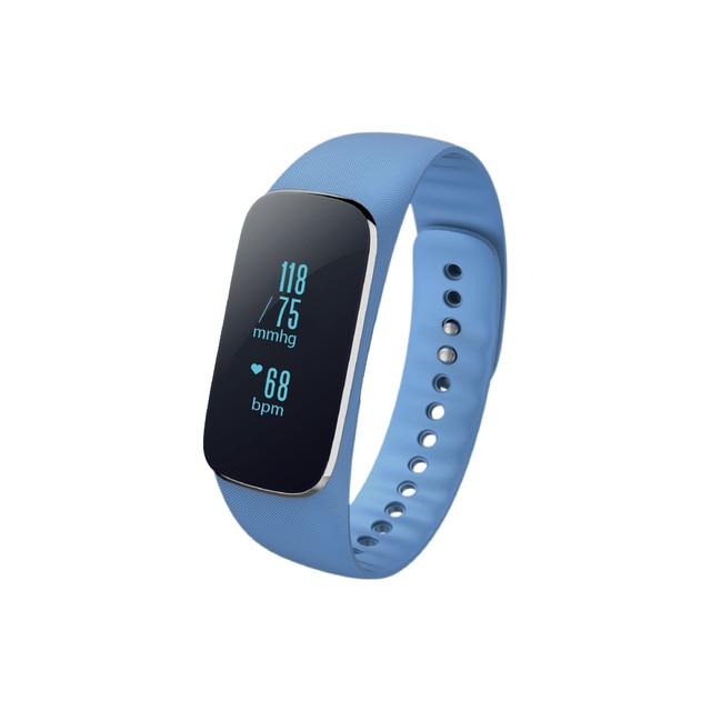 92d42ebef9ec Purifit F8 pulsera inteligente ejercicio metro del ritmo cardíaco Monitores  llamada mensaje recordatorio Presión arterial Monitores