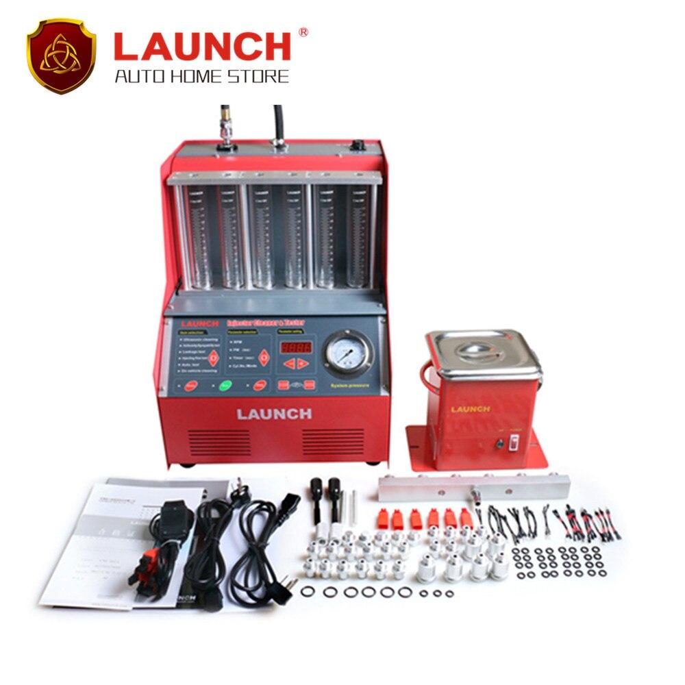 Prix pour [Launch distributeur] launch 6-cylindres cnc602a ultrasons injecteur de carburant plus propre testeur anglais panneau 220 v/110 v