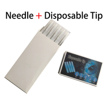 1215M1 Magnum Shader Needle Tattoo Permanent Makeup Needle And 50PCS Sterilized Disposable Tip 15FT/MFT Free Shipping