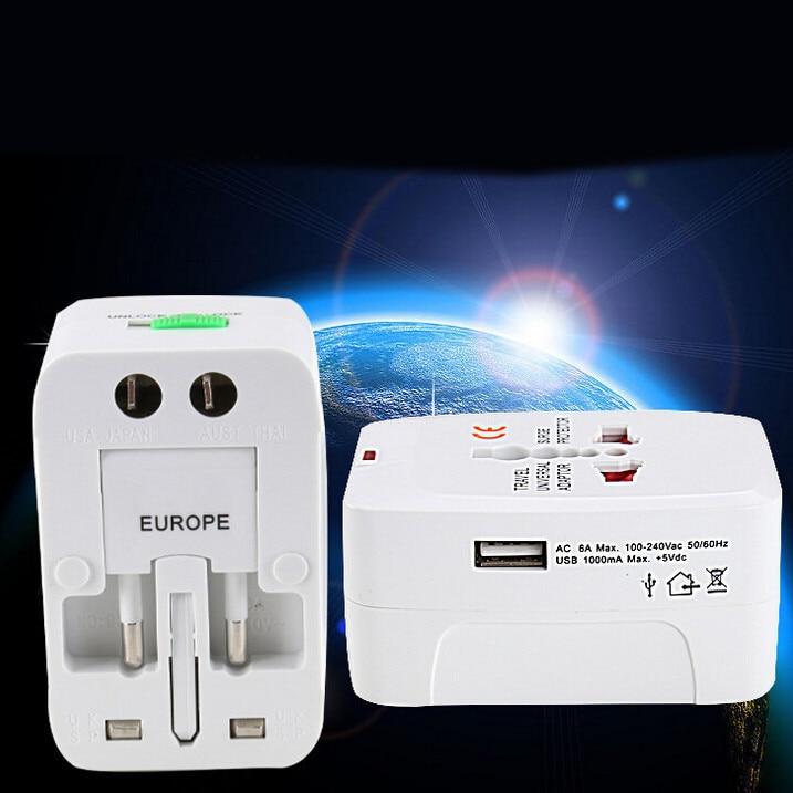 HIPERDEAL USB Universal Multi-function Conversion Socket World Travel Plug Adapter Drop Shipping 1M27