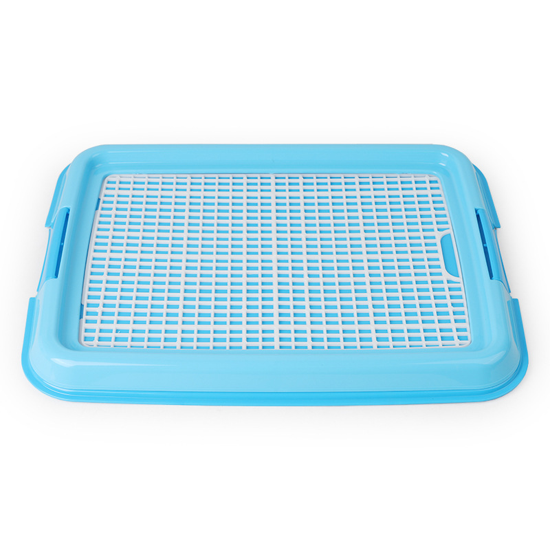 Reusable Puppy Training Pad with Grid Tray for Pets Potty Training Made with PP Resin Material 1