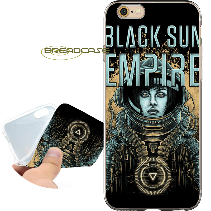 Coque Black Sun Empire BSE Soft Clear TPU Silicone Phone Case for iPhone X 8 7 6S 6 Plus 5S SE 5 5C 4S Case iPod Touch 6 5 Cover