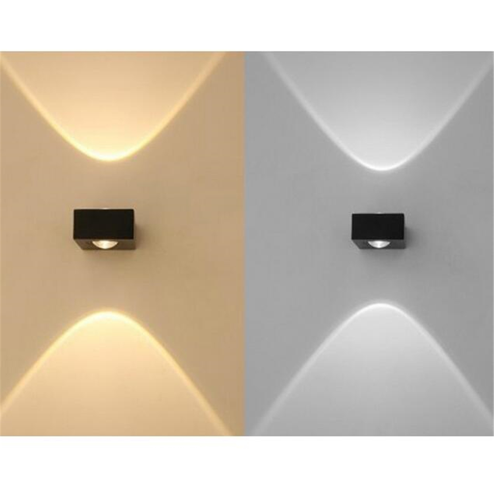 6w double heads up down lighting led wall lamp waterproof outdoor 6w double heads up down lighting led wall lamp waterproof outdoor led wall lights sconce arandela externa de parede in led indoor wall lamps from lights aloadofball Gallery