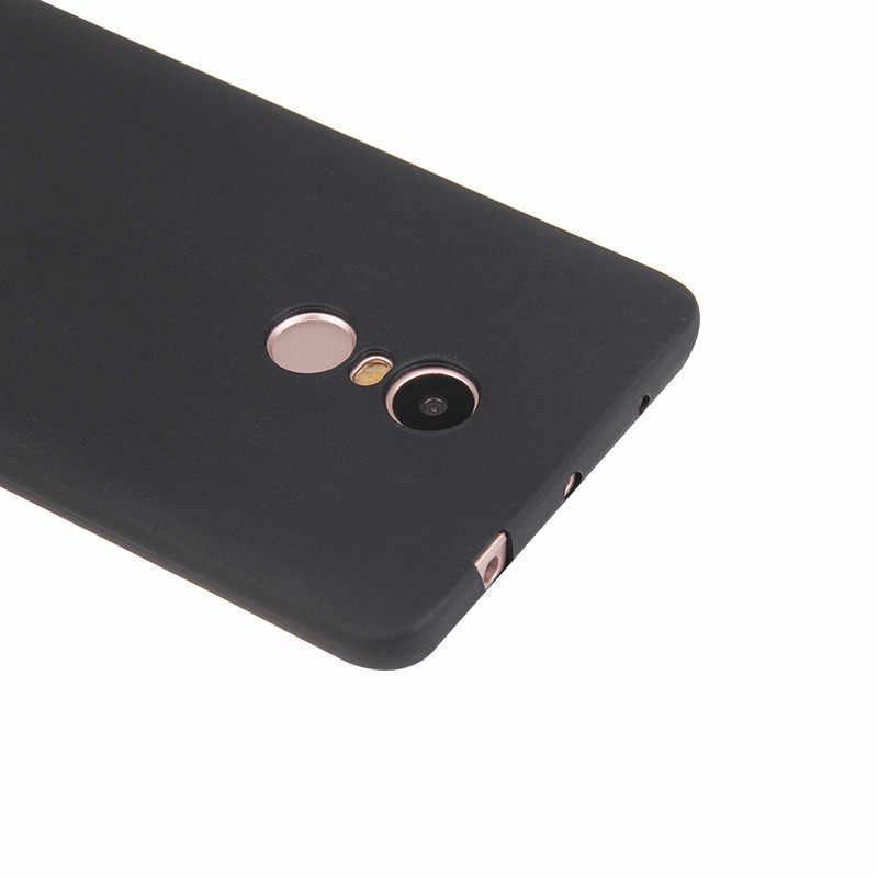 Funda dla Xiaomi Redmi NOTE 7 case silikonowy zwykły prosty czerwony różowy czarny brązowy etui na Xiaomi Redmi 4X6 6a note4 note6 7 pro