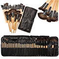Professional 32 pcs Makeup Brushes Set Para Mulheres Moda Suave Rosto lábio Sobrancelha Sombra Make Up Brush Set Kit + Bag Bolsa