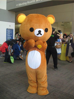 Индивидуальные Janpan Rilakkuma Маскоты costumesjanpan Rilakkuma Медведь Маскоты костюмы Бесплатная доставка