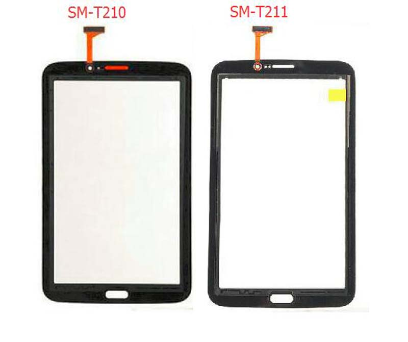 100% Test Black / White for Samsung Galaxy Tab 3 7.0 SM-T210 T210 SM-T211 T211 Touch Screen Digitizer Panel Sensor Glass original new touch screen digitizer touch panel touchscreen for samsung galaxy star advance sm g350e g350e black or white