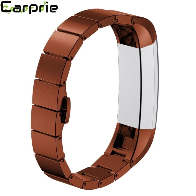Best Price ! New Stainless Steel Watch Band Wrist strap For Fitbit Alta Smart Watch high quality fsshion ED8