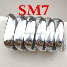 Новые мужские гольф-клинги Гольф-клубы Vokey SM7 wedges serie Серебро 50/52/54/56/58/60 И серебро SM6 Limited Edition 52 56 60