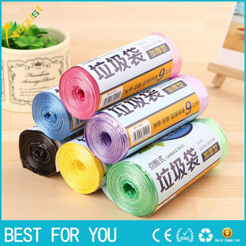 10pcs/lot Quality Thicken tool Kitchen Trash Garbage Bags Rubbish Bucket Can Household Cleaning Tools 43x45cm GYH 50Pcs/Roll