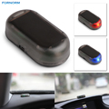1Pcs Fake Solar Car Security Alarm LED Light Security System Warning Theft Flash Blinking Red Blue Color For Any Car