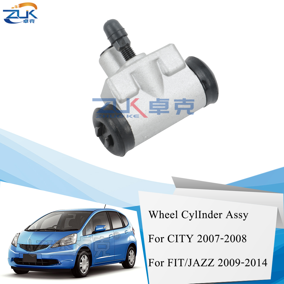 ZUK Rear Drum Brake Cylinder ASSY For HONDA For CITY Fit Saloon FIT JAZZ GE6/8 2009 2010 2011 2012 2013 2014 OE#43300-SEN-003(China)