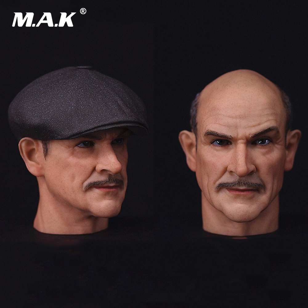 The Untouchables Male Lead Head Sculpt 1/6 Scale Sean Connery Head Sculpt with Hat  for 12 inches Action Figure Body 1 6 scale the game of death bruce lee head sculpt and kungfu clothes for 12 inches figures bodies