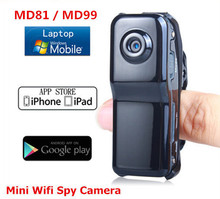 WiFi Mini HD DV Camera Wireless IP Camera Video wifi hd pocket-size Remote by Phone mini camera espia MD81S MD99S camcorders