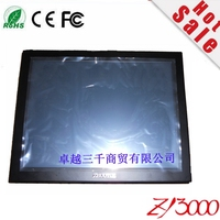 new stock great price12 inch 4:3 HDMI VGA dc12v input 1024*768 USB resistive touch screen industrial monitor for PC