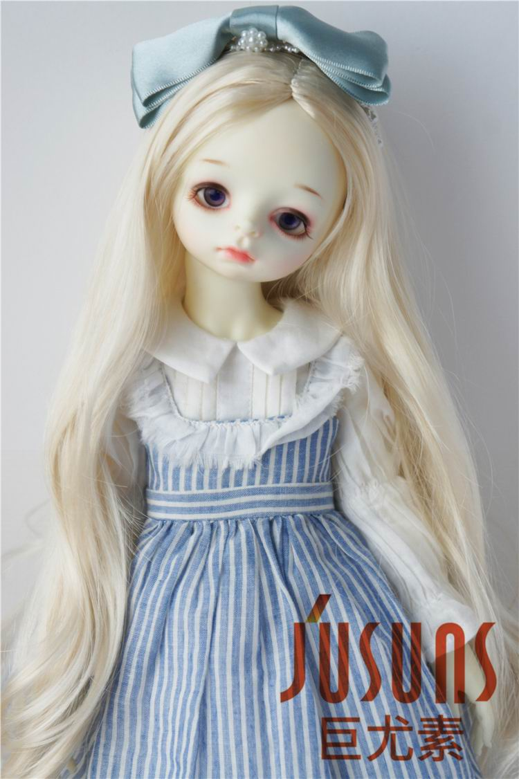 JD028B 1/3 SD doll wig Alice Fancy long curly BJD wig syntheitc mohair wigs 8-9 inch Resin doll accessories 8 9 bjd wig silver knights of england volume mohair wig spot