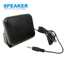 NSP-100 Mini Eexternal Speaker untuk Yaesu Kenwood ICOM Motorola Mobile Mobil Radio Walkie Talkie(China)