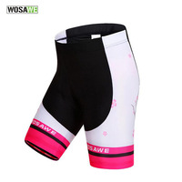WOSAWE Cycling Shorts Summer Women MTB Shorts Mountain Bike Tights Breathable Sports Underwear Downhill Radhose Kurz