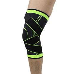 3d professional weaving pressurization knee brace basketball tennis hiking knee support protective sports knee pad.jpg 250x250