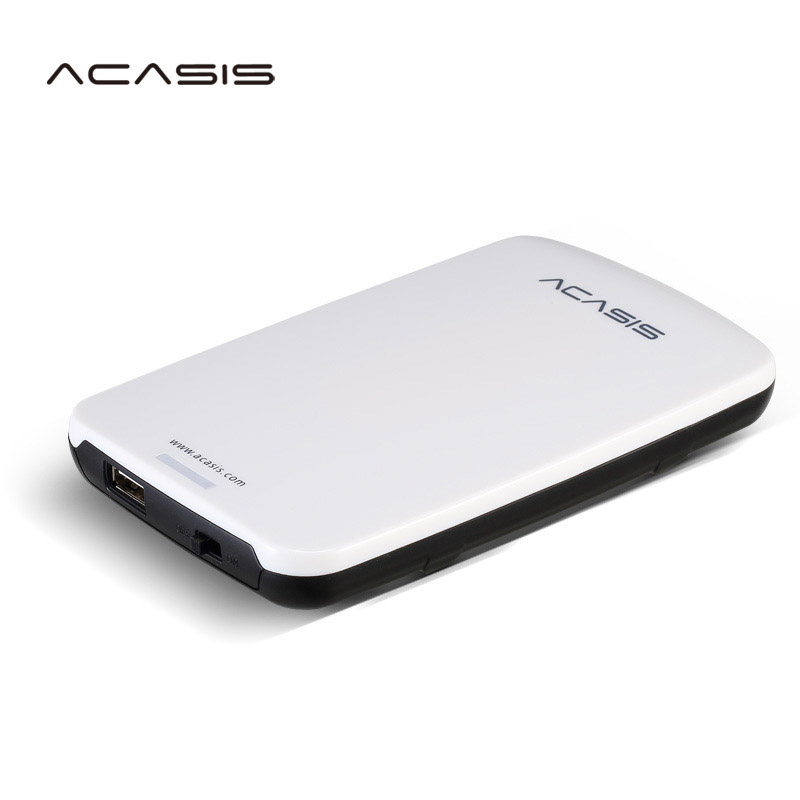 Free shipping On Sale 2.5'' ACASIS Original 500GB USB2.0 HDD Mobile Hard Disk External Hard Drive Have power switch Good price цена