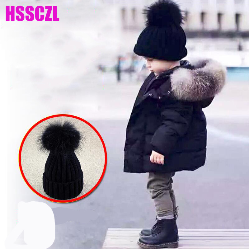 HSSCZL Girls Down Jackets 2017 Brand Kids Detachable Cap Raccoon Fox Fur Collar Baby Down Coat Outerwear Overcoat Parkas 2-10A alfaparf маска для сухих волос semi di lino moisture nutritive mask 200 мл