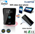 New Wifi video door phones door bell intercom systems (App can be run in Android and IOS devices ) + Door bell DHL Free shipping