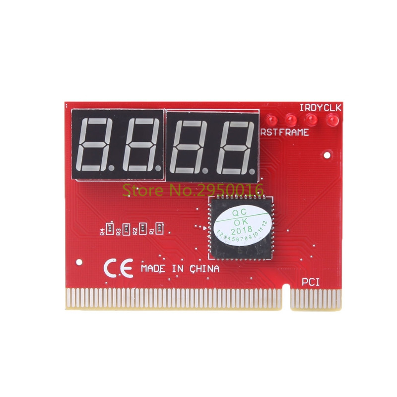 New Computer Analysis PCI POST Card Motherboard LED 4-Digit Diagnostic Test PC Analyzer Network Repair Tool Kit C26
