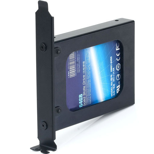 25 inch Hard Drive or SSD Internal PCI Slot Expansion