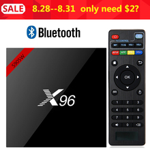 X96 X96W Android 7.1 TV Box Mini Box TV Amlogic S905W 1+8G 2+16G Bluetooth Support 2.4GHz WiFi HD 4K Media Player Set top Box