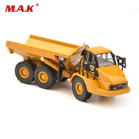 Collection Diecast 1/87 730 Articulated Truck HO Diecast Model W Black Wheels Truck Model Kids Toys Collection Gift