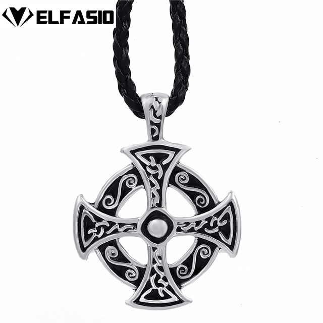Mens boys silver celtic solar cross pewter pendant with 24 choker mens boys silver celtic solar cross pewter pendant with 24 choker necklace lp235 aloadofball Image collections