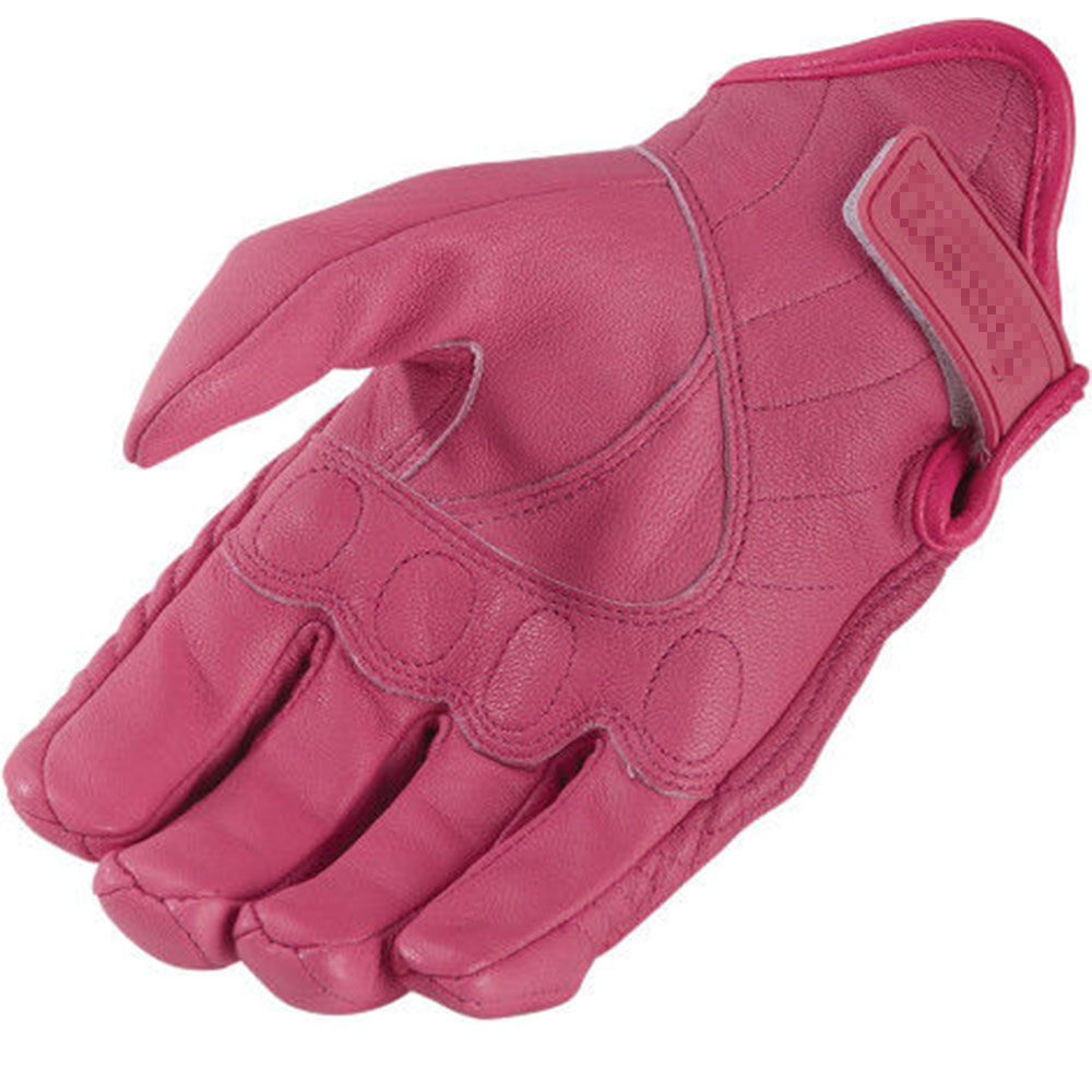 Womens pink leather motorcycle gloves - Online Shop Free Shipping New Arrive Real Leather Women Motorcycle Gloves Moto Gloves Motorbike Gears Pink Xs S M L Xl Aliexpress Mobile