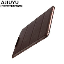 AJIUYU Genuine Leather Case For iPad Pro 12.9 inch Case Protective Smart Cover Tablet New 2017 Pro12.9 Protector Sleeve Cowhide