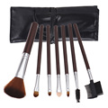 2016 7PCS Cosmetics Brand Makeup fiber Brush Tools Foundation Brush For Face Make Up Beauty Essentials