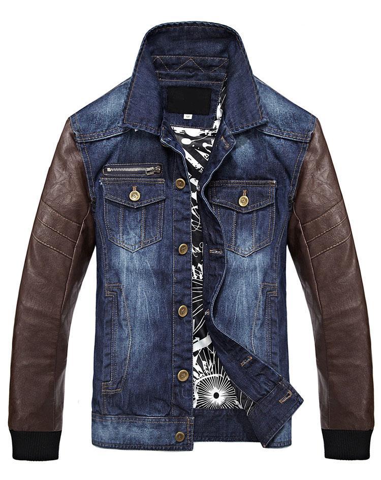 Jean shop leather jacket